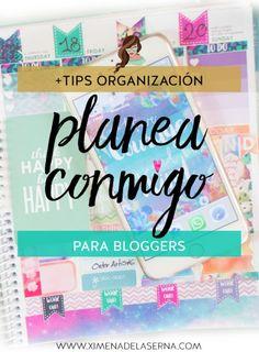 Planea conmigo + tips de organización para emprendedoras
