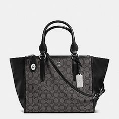 COACH Designer Handbags   Crosby Carryall In Signature Jacquard