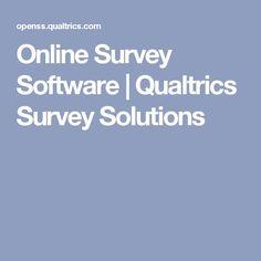 Online Survey Software   Qualtrics Survey Solutions