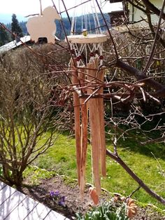 Windspiel Outdoor Structures, Wind Chimes, Driftwood, Lawn And Garden