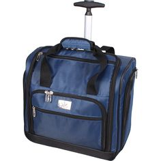Verdi Under the Seat Bag - eBags.com $50.  Perfect as a 3/4 sized sewing machine case for travel or classes.