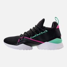a345d7c0d Left view of Women's Puma Muse Maia Varsity Casual Shoes Casual Shoes,  Adidas Sneakers,