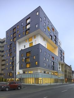 Architizer Blog » Building Of The Day: Sculptural Affordable Housing By Teeple Architects