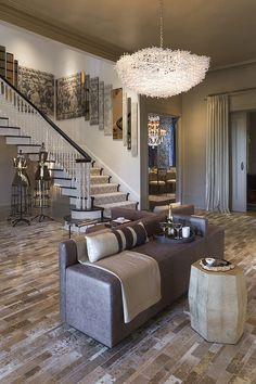 Kate Moss-inspired foyer
