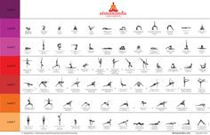 The Atmananda Yoga Sequence is the body of knowledge, experienced through Hatha Yoga, Iyengar Yoga and Ashtanga Yoga, combined to create a Vinyasa flow.