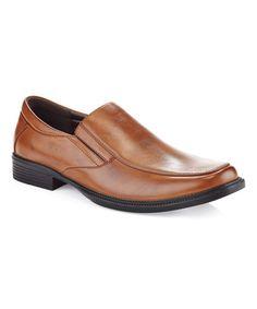 Look at this #zulilyfind! Brown Slip-On Loafer #zulilyfinds