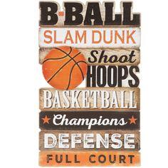 Basketball Words Wood Wall Decor on Mercari Boys Basketball Room, Basketball Themed Rooms, Basketball Boyfriend, Basketball Posters, Basketball Design, Basketball Drills, Basketball Gifts, College Basketball, Boys Room Decor