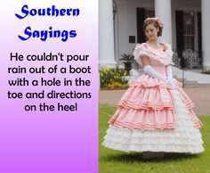 Southern Sayings