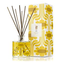 Orla Kiely Sicilian Lemon Scented Diffuser with Free Gift 20 | Fragrance Direct