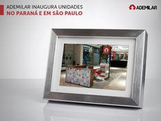Dentro do plano de expansão para 2016, a Ademilar acaba de inaugurar duas unidades de negócio. Foz do Iguaçu, no oeste do Paraná, conta agora com um quiosque da administradora no piso térreo do Shopping Catuaí Palladium. O município de Taubaté, em São Paulo, recebeu um licenciado da empresa paranaense.