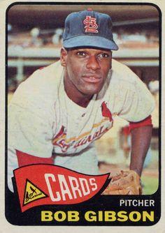 Bob Gibson #44, St. Louis Cardinals, MLB