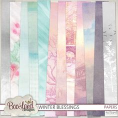 Winter Blessings Paper Pack