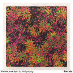 Blumen Bunt Aqua Glasuntersetzer Aqua, Designs, Home Decor, Personalized Coasters, Welcome Home, Business Cards, Artworks, Stones, Pictures