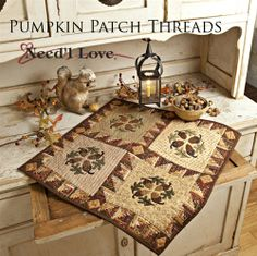 Q25 Pumpkin Patch Threads from Need'l Love