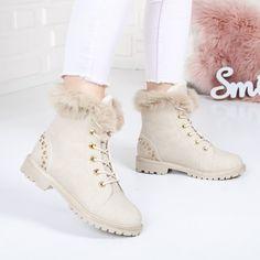 Bocanci Nesira bej imblaniti Boots, Winter, Casual, Fashion, Crotch Boots, Winter Time, Moda, Fashion Styles, Shoe Boot