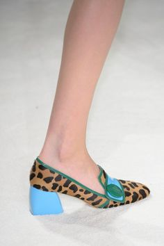Pin for Later: These Fashion Week Shoes Are More Like Works of Art Miu Miu Fall 2015