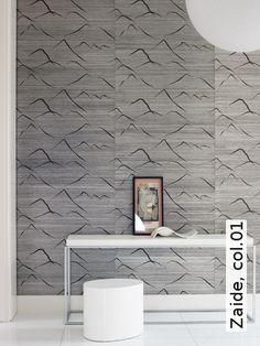 Tapete: Zaide, col.01 - TapetenAgentur #wallpaper #wallcovering