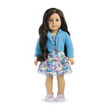 AMERICAN GIRL® - TRULY ME - Hazel Eyes, Dark Brown Hair, Light Skin Tone