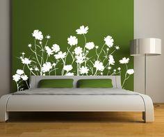 BUYMA.com ウォールステッカー・壁紙【22色あり】Field of Wild Flowers(20512914)