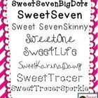 FONTS!!  I have created a set of original fonts created by me, Sandra Matadamas from Sweet Times in First!  You will get a zip file that contains *15* original fonts that were made by me. They are TTF files!  If you need help downloading fonts on a PC, please check here: http://www.wikihow.com/Download-Fonts-for-Windows  To download on a MAC, just open your Font Book and drag the TTF files into it!