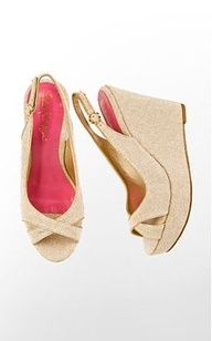 pink wedges! <3 #style