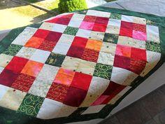 Kostičková vánoční Quilts, Blanket, Quilt Sets, Blankets, Log Cabin Quilts, Cover, Comforters, Quilting, Quilt