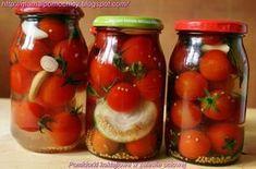 Mama i Pomocnicy: Pomidorki koktajlowe w zalewie octowej Tasty, Yummy Food, Polish Recipes, Polish Food, Beets, Preserves, Food And Drink, Healthy Eating, Mason Jars