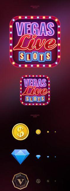 Las Vegas, Vegas Casino, Best Casino, Promotion Examples, Casino Logo, Game Logo Design, Mobile Casino, Splash Screen, Mobile Art