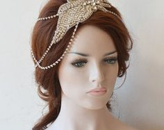 Bridal Hair Accessory Wedding Headband Pearl Wedding by ADbrdal