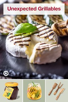 Grilling Ideas, Grilling Recipes, Cooking Recipes, I Love Food, Good Food, Yummy Food, Brie, Appetizer Recipes, Dessert Recipes