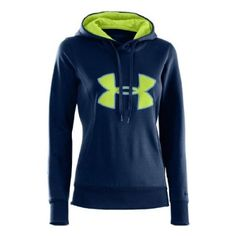 really, Really, REALLY want this hoodie! | Under Armour Women's Armour® Fleece Storm Big Logo Hoodie