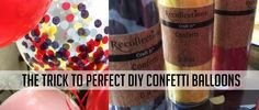 Perfect DIY Confetti