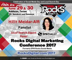 Join us as we welcome Hillit Meidar-Alfi, CEO and Founder of Spatially, on the Local Search Panel at Rocks Digital 2017! Register now!