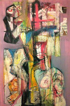 "Saatchi Art Artist Bruno Varatojo; Painting, ""Forms of being (8)"" #art"