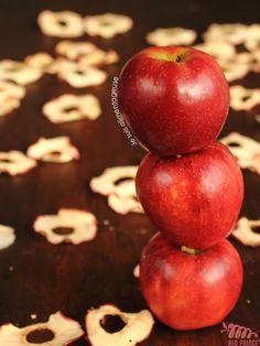 Baked Apple Chips - The Viet Vegan