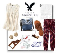 by qroxp on Polyvore featuring polyvore, fashion, style, American Eagle Outfitters and Dušan