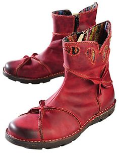 Rovers Jonna, red - Ankle Boots - Deerberg