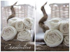 creativLIVE: DIY Stoffrosen