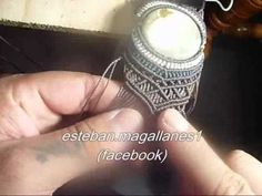 How to Wrap a Stone - Macrame Tutorial [DIY] - YouTube