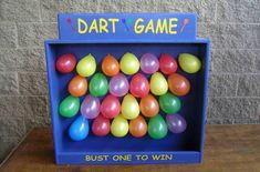 Darts are a very popular way to incorporate physical elements into games of chance in a carnival.