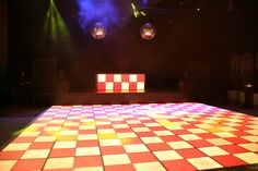 LED dancefloor Led Dance, Event Styling, Tile Floor, Flooring, Texture, Crafts, Seeds, Surface Finish, Manualidades
