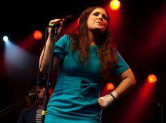 Sångerskan Miss Li (Linda Karlsson) från Borlänge