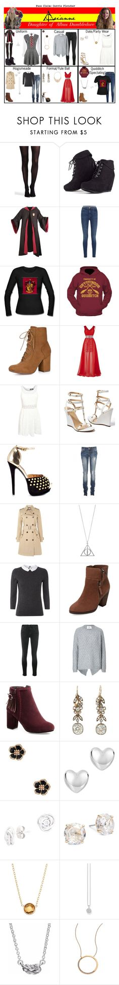 """Arianne. Daughter of Dumbledore."" by elmoakepoke ❤ liked on Polyvore featuring Percival, SPANX, MARA, J Brand, Allegra K, Pilot, Venus, Shoe Republic LA, Hallhuber and White Stuff"