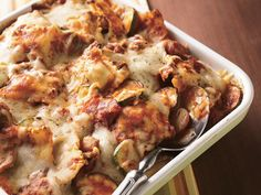 Sausage Ravioli Casserole    Turn frozen ravioli into an impressive casserole loaded with Italian flavorings and plenty of Swiss cheese