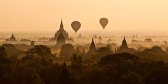 Lever de Soleil sur Bagan (Birmanie) - VirusPhoto, apprendre la photo ensemble