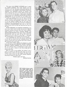 Early AB Gallery #5 Ice Skating Party, Skate Party, The Lennon Sisters, American Bandstand, Mickey Mouse Club, Background Pictures, Her Brother, Early American, Picture Show