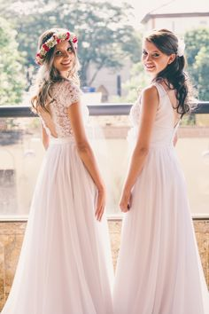 Double Wedding, Bridesmaid Dresses, Wedding Dresses, Wedding Ideas, Fashion, Wedding Blog, Ball Gown Wedding Dresses, Bride Groom Dress, Wedding On The Beach