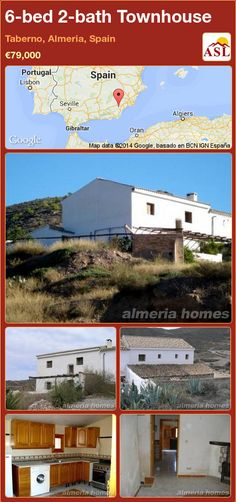 Townhouse for Sale in Taberno, Almeria, Spain with 6 bedrooms, 2 bathrooms - A Spanish Life Portugal, Entrance Hall, Double Bedroom, Semi Detached, Ground Floor, Property For Sale, Townhouse, Solar, Spanish
