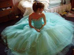 Beautiful seafoam dress