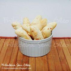 Biscoitos de Polvilho na AirFryer - Fritadeira sem Óleo - AirFryer
